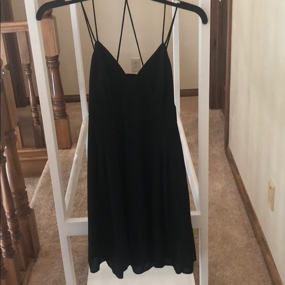 Express Dresses & Skirts - Black Express open back mini dress